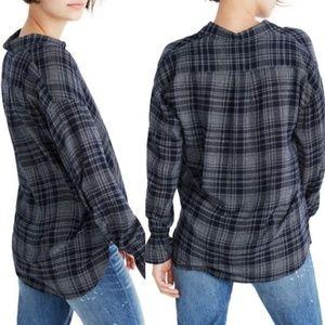 •MADEWELL• Westward Bell Sleeve Shirt Sz XXS.